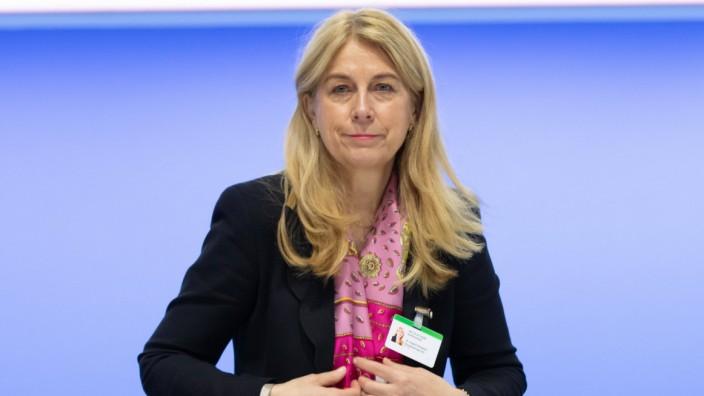 Bochum, Deutschland, 31.01.2020, ThyssenKrupp Hauptversammlung: Ingrid Hengster, Mitglied des Aufsichtsrates ThyssenKrup
