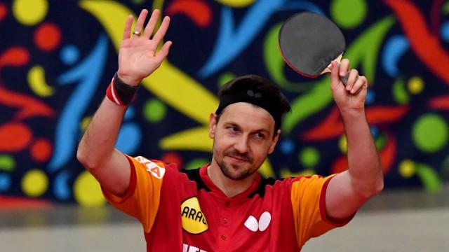 Tischtennis-Europameister Boll