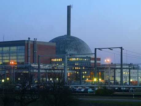 Atomkraftwerk in Stade, dpa