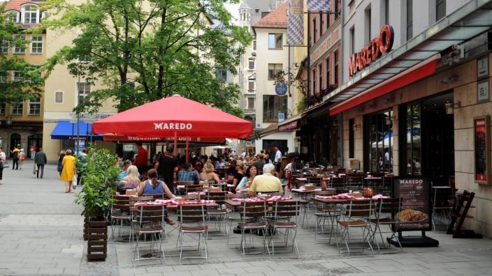 """""""Maredo"""" Steakhaus in München, 2018"""