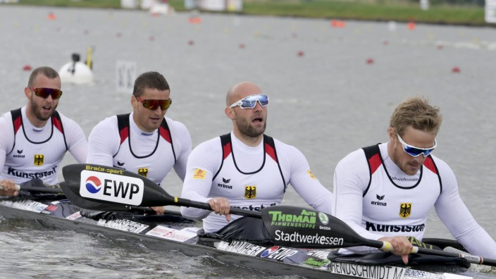 Schock für Kanuten: Totalschaden an Olympia-Boot