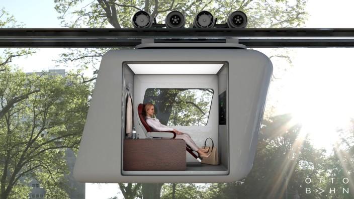 Nahverkehr: Die Gondeln sollen autonom fahren und Personen ebenso befördern wie Lasten.