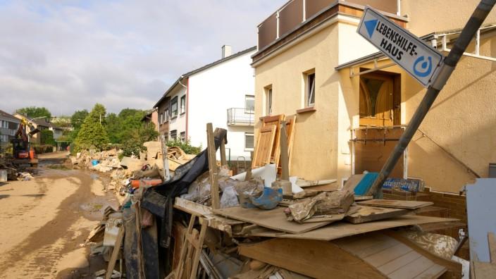 Nach dem Unwetter in Rheinland-Pfalz, Überschwemmungen