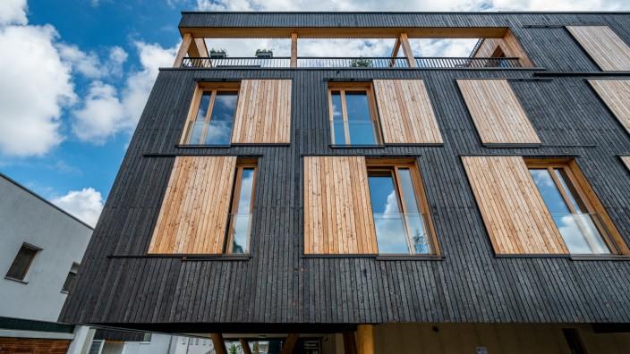 """Holzbauprojekt ´Haus auf Stelzen"""""""