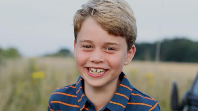 Prinz George wird acht Jahre alt