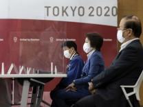 Vor den Olympischen Spielen in Tokio