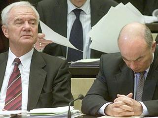 Manfred Stolpe und Jörg Schönbohm