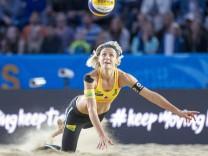 Swatch Beach volleyball Beachvolleyball FIVB World Tour Finals Hamburg am 25 08 2017 Laura Ludwig