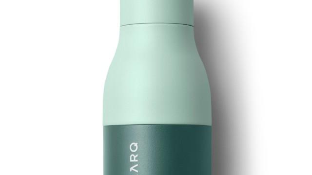 Kurz gesichtet: Mit eingebautem Wasserreiniger: Trinkflasche von Larq.