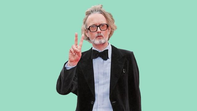 Ladies & Gentlemen: Auch gereifteren Jungs steht Hellblau: Jarvis Cocker in Cannes.