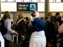 Flughafen Hannover - Ferienbeginn in Niedersachsen