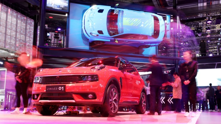 "Internationale Automesse ´Auto Shanghai"""