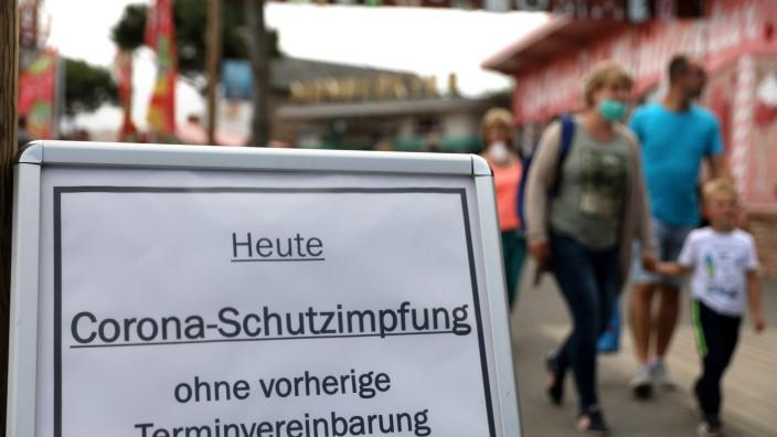 Offener Impftag bei Karls Erlebnis-Dorf