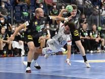 11.07.2021 - Handball - Drei Nationen Turnier - Länderspiel - Deutschland / Germany vs Ägypten Egypt - / - Ali Zein (90