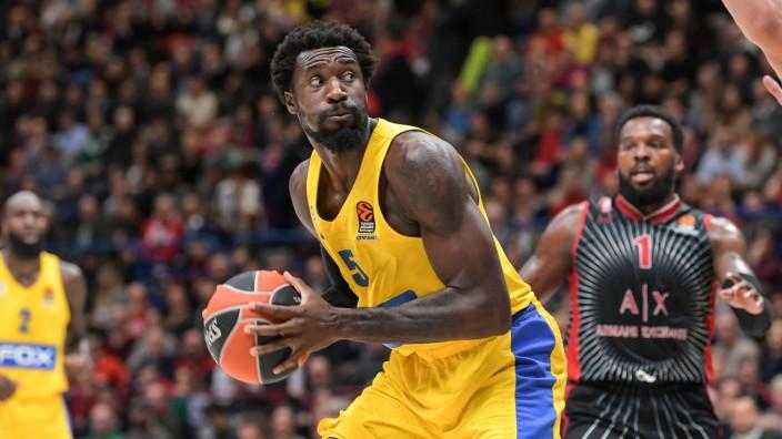 Photo Claudio Grassi/LaPresse November 19, 2019 Assago (MI) Italy basket AX Armani Exchange Olimpia Milan vs Maccabi FOX; Othello Hunter