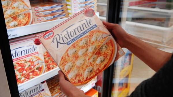 Dr Oetker refrigerated pizza PUBLICATIONxNOTxINxUK
