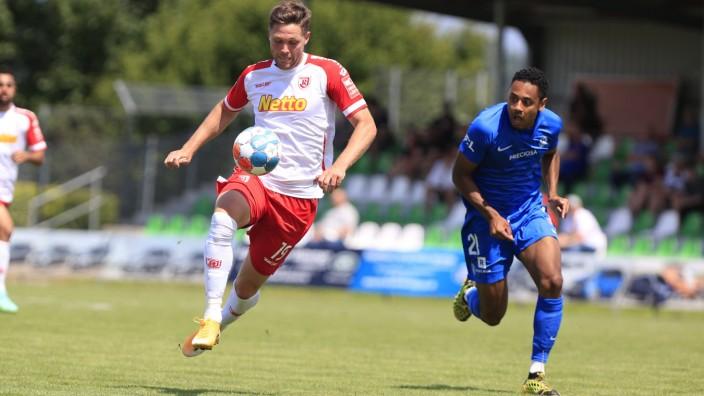 SSV Jahn Regensburg - FC Slovan Liberec Schalding-Heining (Bayern/Deutschland) Fussball Herren, Vorbereitung, Saison 202