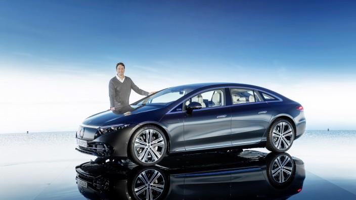Digitale Weltpremiere des neuen EQS von Mercedes-EQ  Digital world premiere of the new EQS from Mercedes-EQ