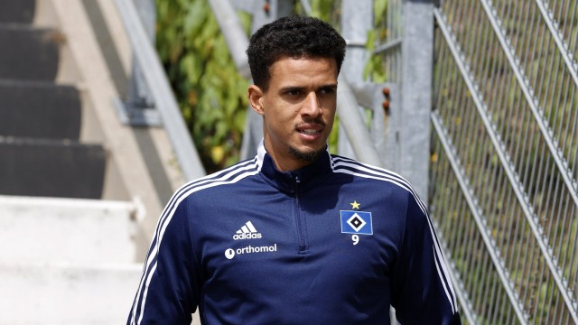 Hamburger SV Training 10.07.2021 Hamburger SV Training 10.07.2021 am Volksparkstadioin Robert Glatzel (Hamburger SV) **