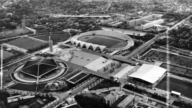 OLYMPICS KOMAZAVA SPORTS CENTRE IN TOKYO, JAPAN ; 8 JULY 1964, TOKYO Copyright: Topfoto PUBLICATIONxINxGERxSUIxAUTxONLY