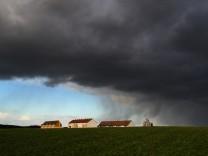 Wetter: Am Wochenende droht wieder Starkregen
