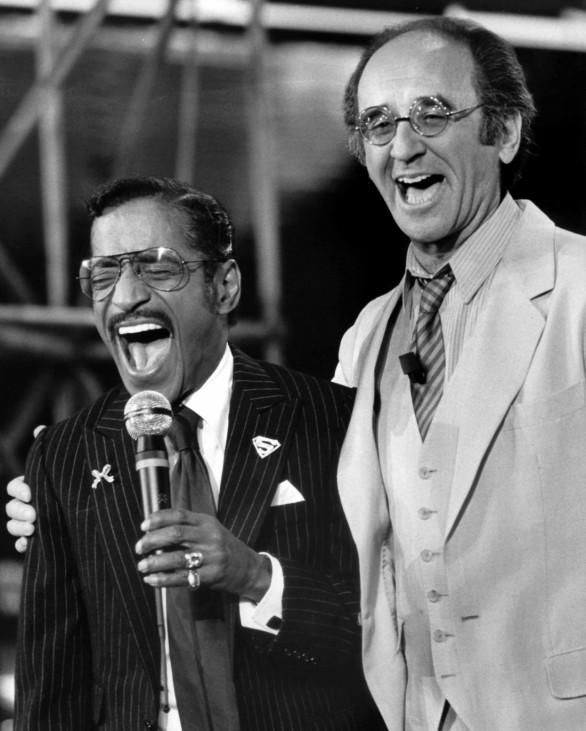 Sammy Davis jr. und Alfred Biolek 1982 in Köln