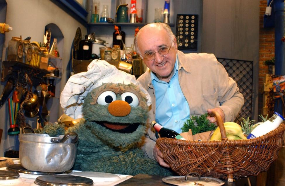 Alfred Biolek in der Sesamstraße