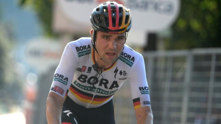 15-08-2020 Giro Di Lombardia; 2020, Bora - Hansgrohe; Schachmann, Maximilian; Como; PUBLICATIONxNOTxINxITAxFRAxNED