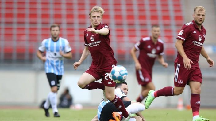 17.07.2021 - Fussball - Saison 2021 2022 - Testspiel / Freundschaftsspiel / Vorbereitungsspiel: 1. FC Nürnberg Nuernber; Fußball, Mats Möller Moeller Daehli