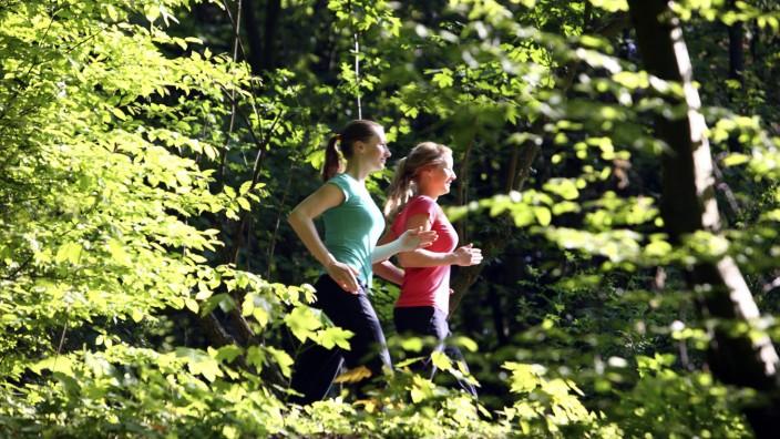 Sportartikelhersteller: Schuhe an und raus: Die Einstiegshürden beim Laufen sind denkbar niedrig.