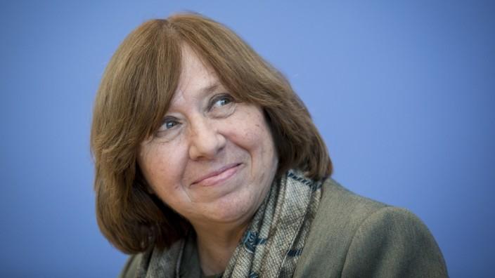 Alexijewitsch Belarus Pressefreiheit Meinungsfreiheit PEN