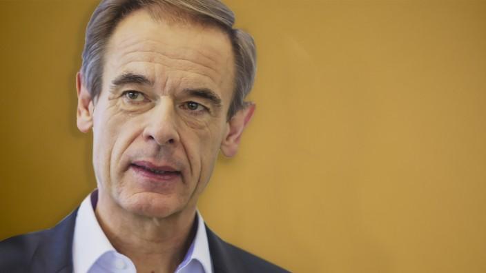 DEU, Deutschland, Baden-W¸rttemberg, Renningen, 09.05.2019: Dr. Volkmar Denner, Vorsitzender der Bosch-GeschâÄ°ftsf¸hrung