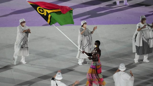 Olympische Eröffnungsfeier: undefined