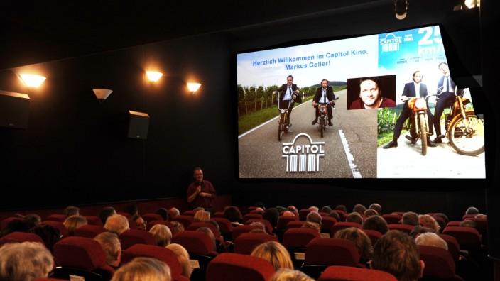 """Filmtheater: So voll wie hier bei einer Sondervorstellung Ende 2018 wird das """"Capitol"""" so schnell nicht mehr werden, momentan können dort 25 Plätze verkauft werden."""