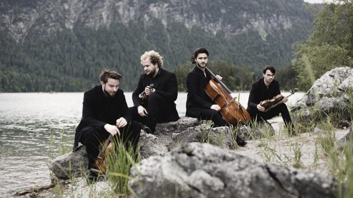 Klangwelt Klassik: Im dritten Anlauf kommt das Goldmund-Quartett nach Icking.