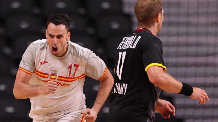 Handball - Men - Group A - Germany v Spain