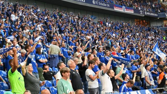 GER, 2.FBL, FC Schalke 04 vs Hamburger SV / 23.07.2021, Veltins-Arena, Gelsenkirchen, GER, 2.FBL, FC Schalke 04 vs Hamb