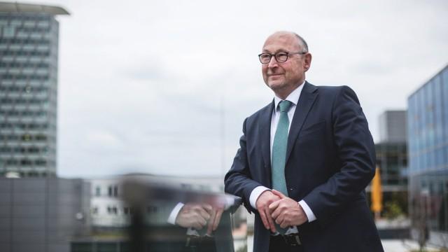 Interview mit Rolf Buch Vorstand VONOVIA im Axel Springer Haus *** Interview with Rolf Buch VONOVI