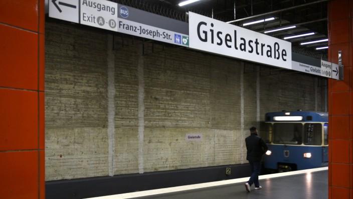 Unfall in Schwabing: Am U-Bahnhof Giselastraße ereignete sich das Unglück (Symboldfoto).