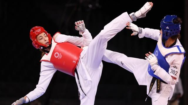 Taekwondo - Women's Featherweight 49-57kg - Bronze medal match