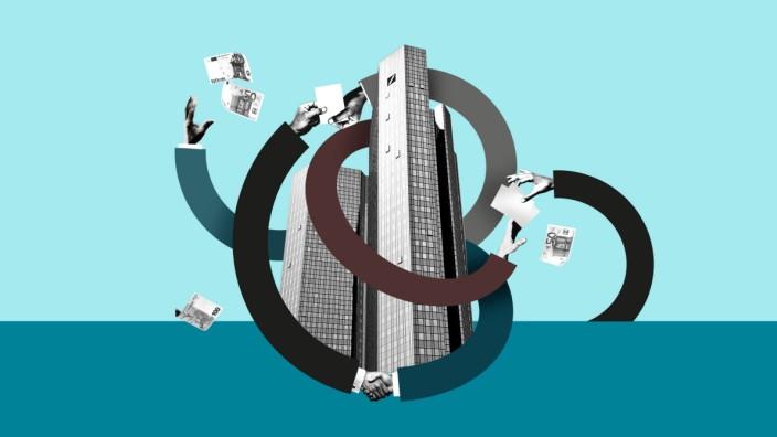 Deutsche Bank: Illustration: Stefan Dimitrov