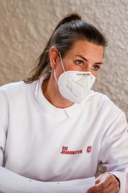 Impfzentrum Johanniter Claudia Hofberger