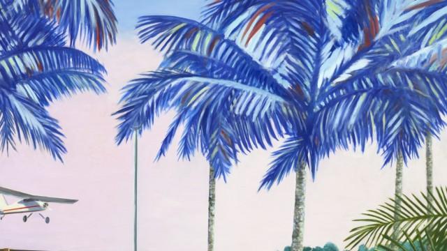"""Ausstellungen in Bernried und München: Ein Bild wie eine Erzählung: """"Miami-Beach"""" (Dalmatiner) von Leif Trenkler, zu sehen in der Galerie Wolfgang Jahn in München."""