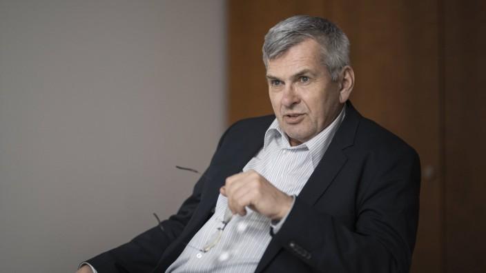 Jörg Hofmann, erster Vorsitzender der Industriegewerkschaft Metall IG