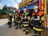 Syrische Helfer bei Feuerwehr Kirchseeon