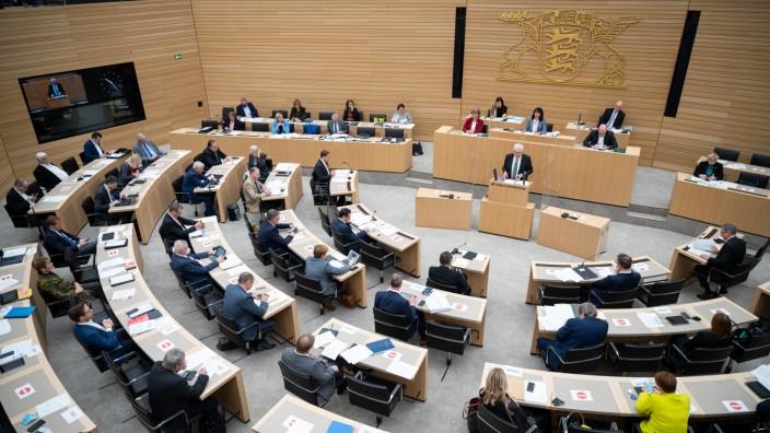 Sondersitzung Landtag Baden-Württemberg