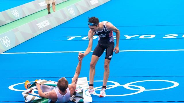 OLYMPICS - Summer Olympic Games, Olympische Spiele, Olympia, OS 2020 TOKYO,JAPAN,26.JUL.21 - OLYMPICS, TRIATHLON - Summ