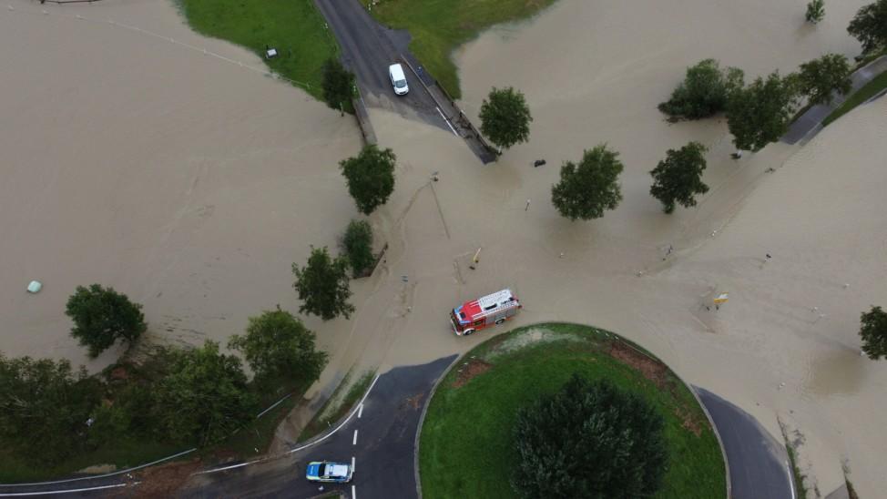 Hochwasser Oberallgäu