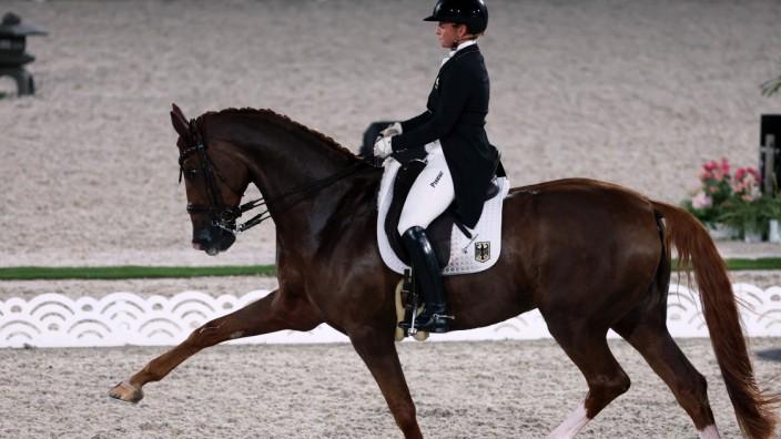 Zeitplan: Immer gut für eine Goldmedaille: Isabell Werth auf Bella Rose.