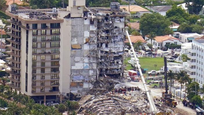 Letzte Vermisste nach Hauseinsturz in Florida identifiziert